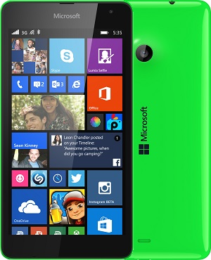 device category Lumia 535