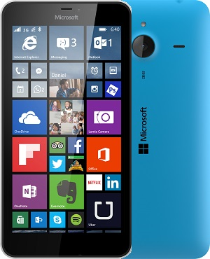 device category Lumia 640 XL