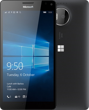 device category Lumia 950 XL